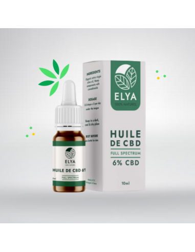 Huile CBD 6% Premium Full Spectrum 10ml