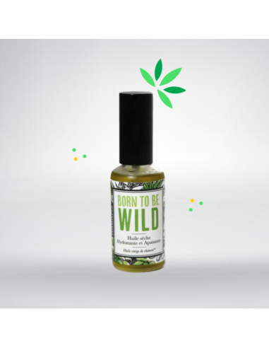 Huile de chanvre Back to the wild 50ml