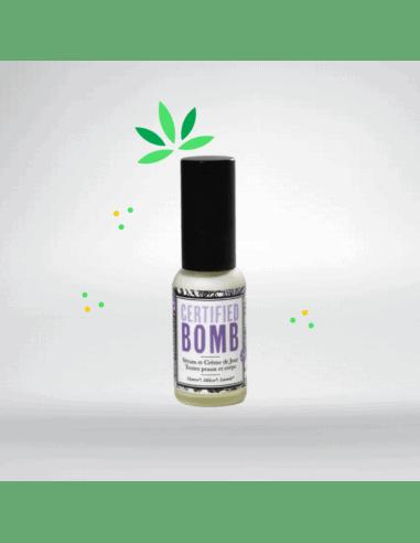 Sérum et crème de jour au chanvre et mélisse - Certified Bomb 30ml