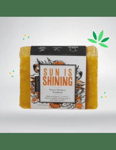 Savon au chanvre et à l'orange - Sun Is Shining 100g