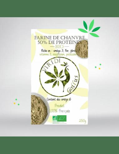 Farine de chanvre bio (250g)